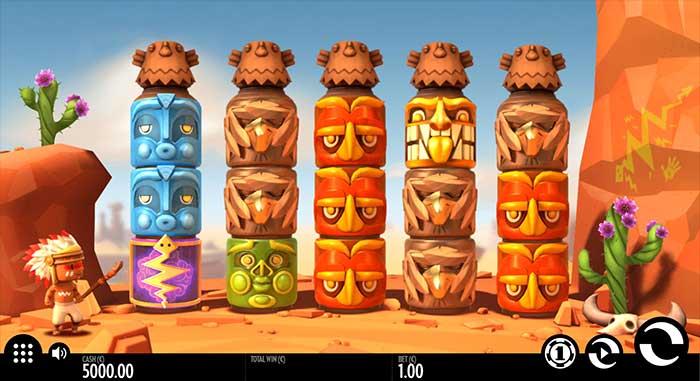 Turning Totems Slot base game