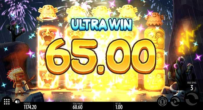 Turning Totems Slot big win