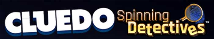 Cluedo Spinning Detectives Slot Logo