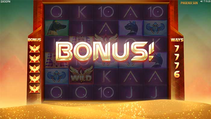 Phoenix Rising Slot free spins trigger