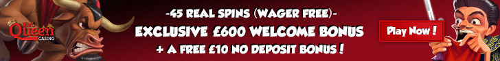 Red Queen Casino Bonuses