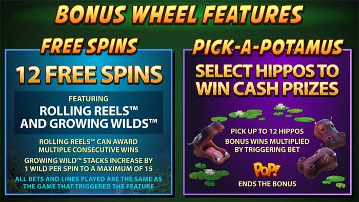 Tarzan Slot Bonus Features