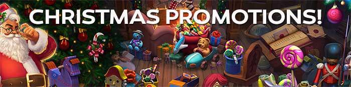 Christmas Casino Promotions 2017 Header