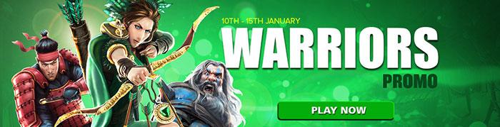 CasinoLuck Warriors Promotions