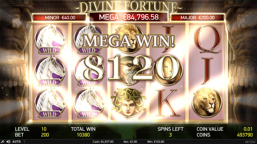 Divine Fortune Slot - Mega Big Win
