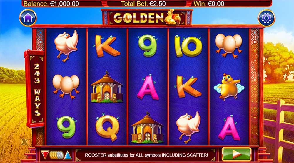 Golden Slot - Base Game