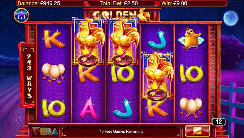 Golden Slot - Bonus Trigger