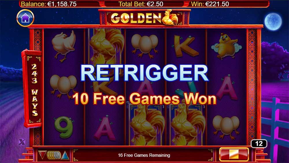Golden Slot - Re-Trigger