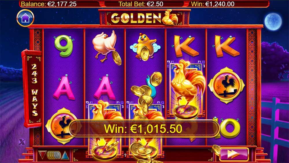 Golden Slot - Big Win