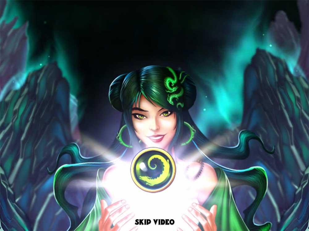 Jade Magician - Intro Screen