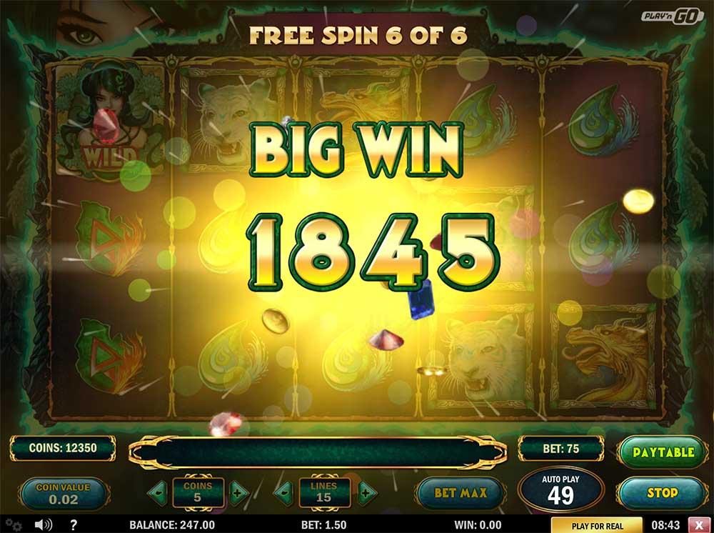 Jade Magician - Big Win
