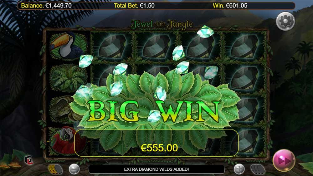 Jewel of the Jungle - Big Win