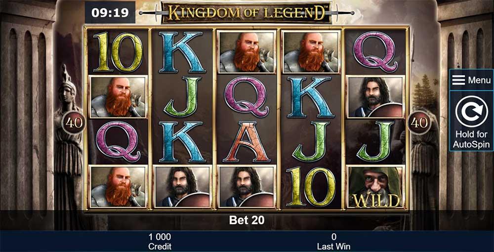 Kingdom of Legend Slot - Base Gameplay