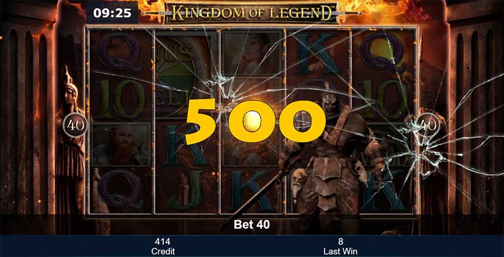 Kingdom of Legend Slot - Orc Bonus
