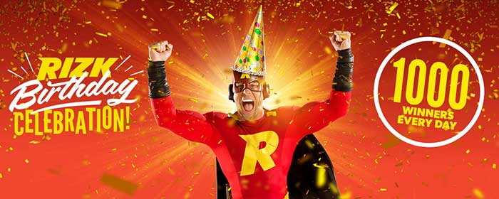 Rizk Casino Birthday Promotions