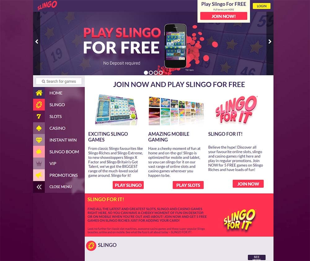 Slingo Extreme Casino Game - Play Online for Free Instantly