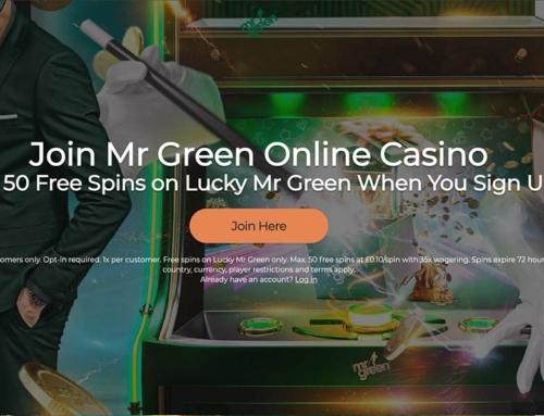 50 Free Spins No Deposit – Mr Green UK Exclusive Offer!