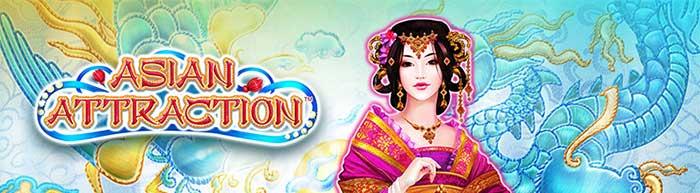 Asian Attraction Slot Header Logo