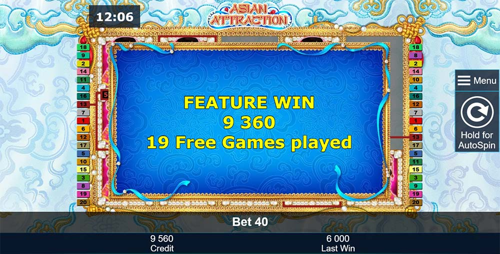 Asian Attraction Slot - Feature Complete