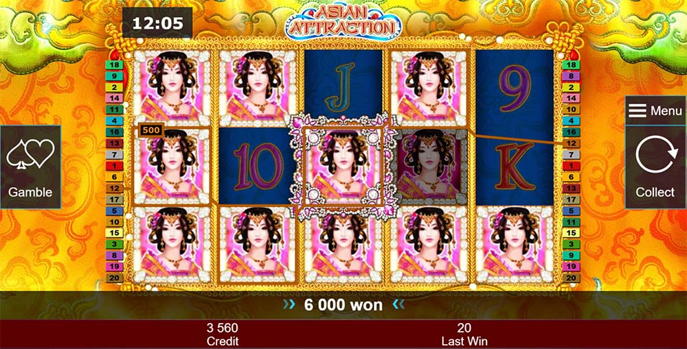 Asian Attraction Slot - Big Win