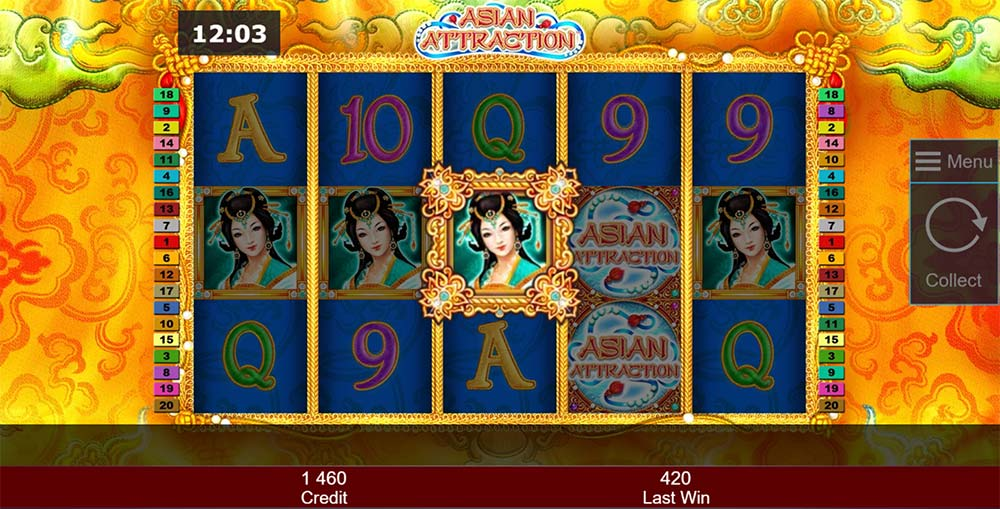 Asian Attraction Slot - Symbol Upgrade Feature