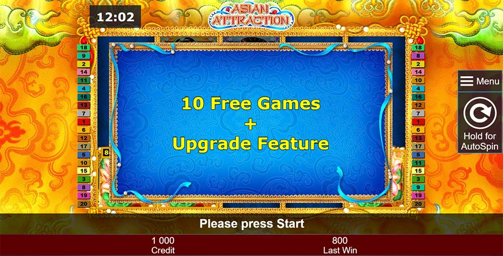 Asian Attraction Slot - Free Spins
