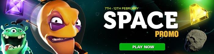 CasinoLuck Space Promotions
