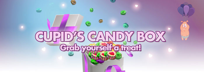 Cupid's Candy Box - Free Spins