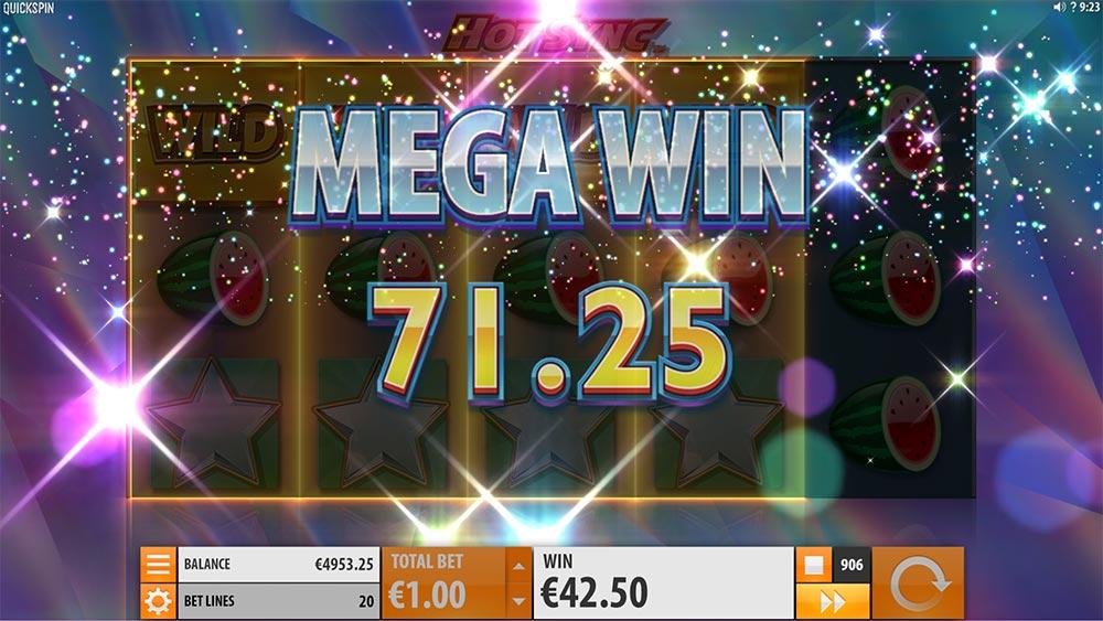 Hot Sync Slot - Mega Win