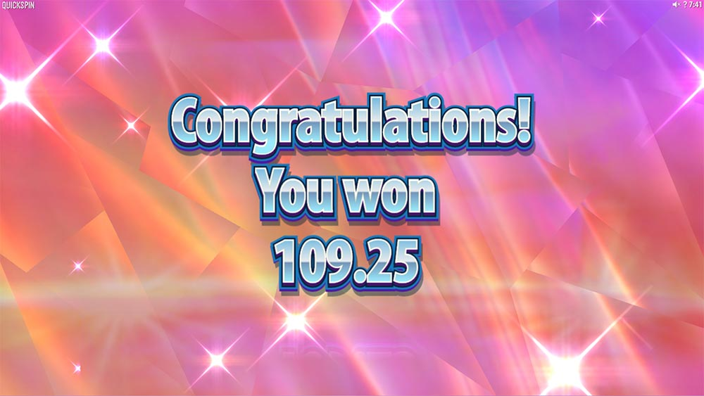 Hot Sync Slot - Bonus End Winnings