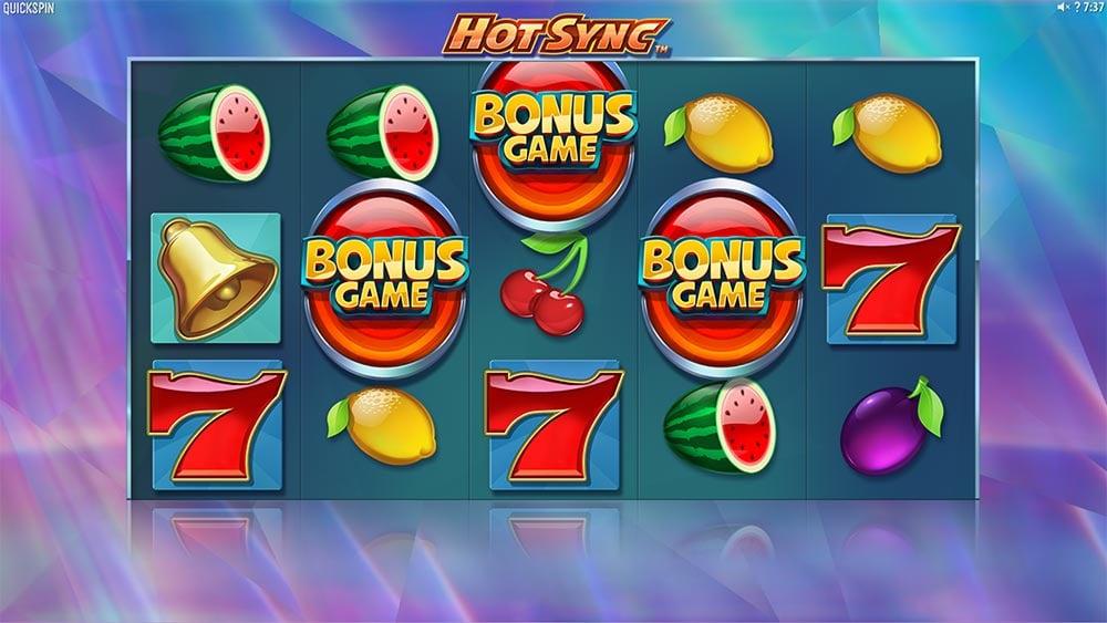 Hot Sync Slot - Bonus Trigger