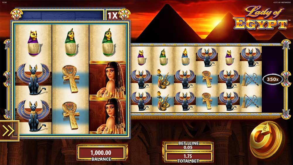 Lady of Egypt - Base Game