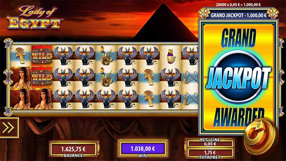 Lady of Egypt - Jackpot