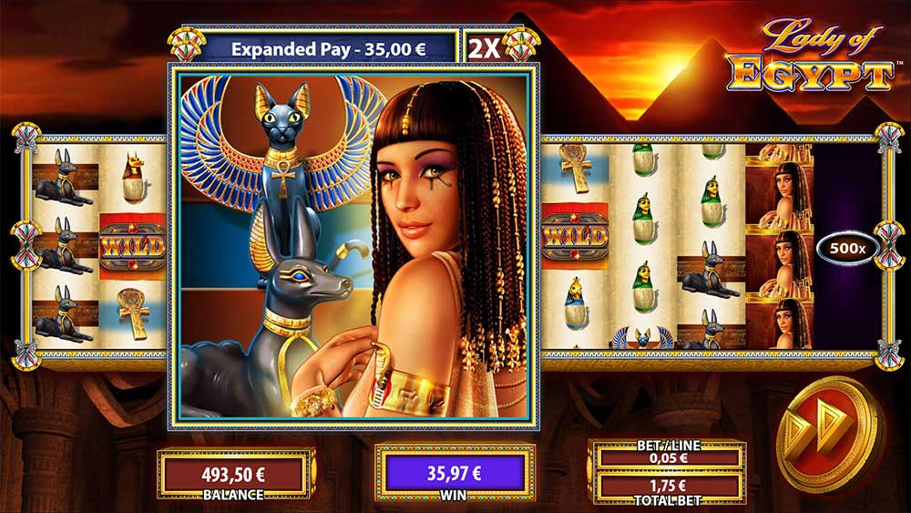 Lady of Egypt - Expanded Pay