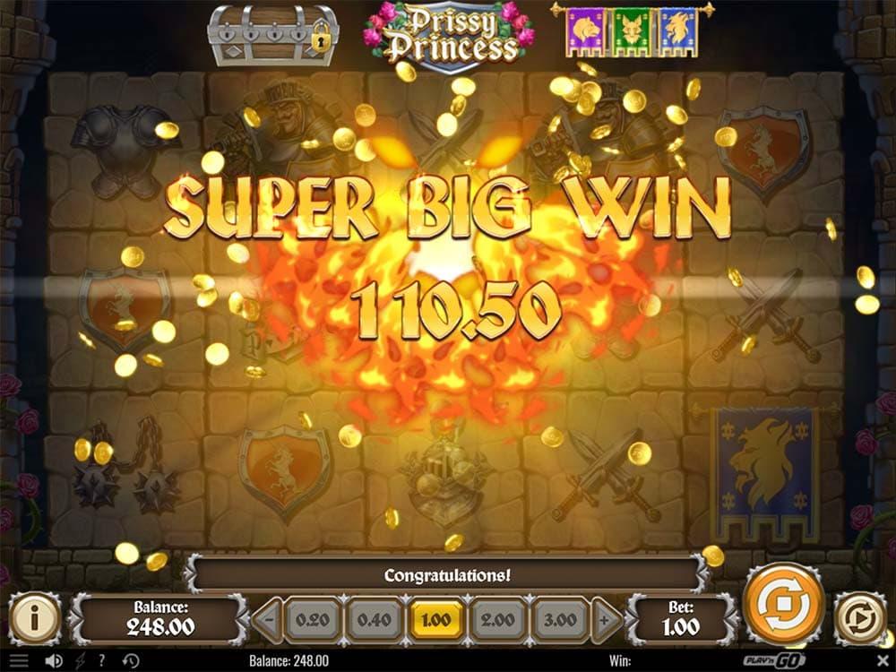 Prissy Princess Slot - Super Big Win