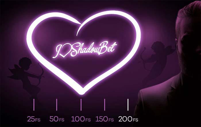 Shadow Bet Casino Valentines Free Spins