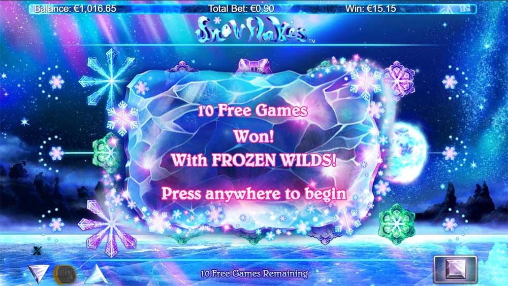 Snowflakes Slot - Free Spins
