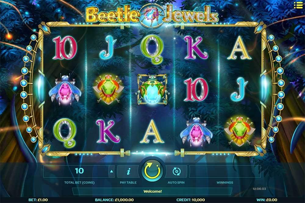 Beetle Jewels Slot - Base Game
