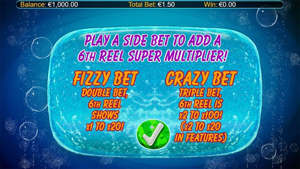 Crazy Pop Slot - Intro Screen