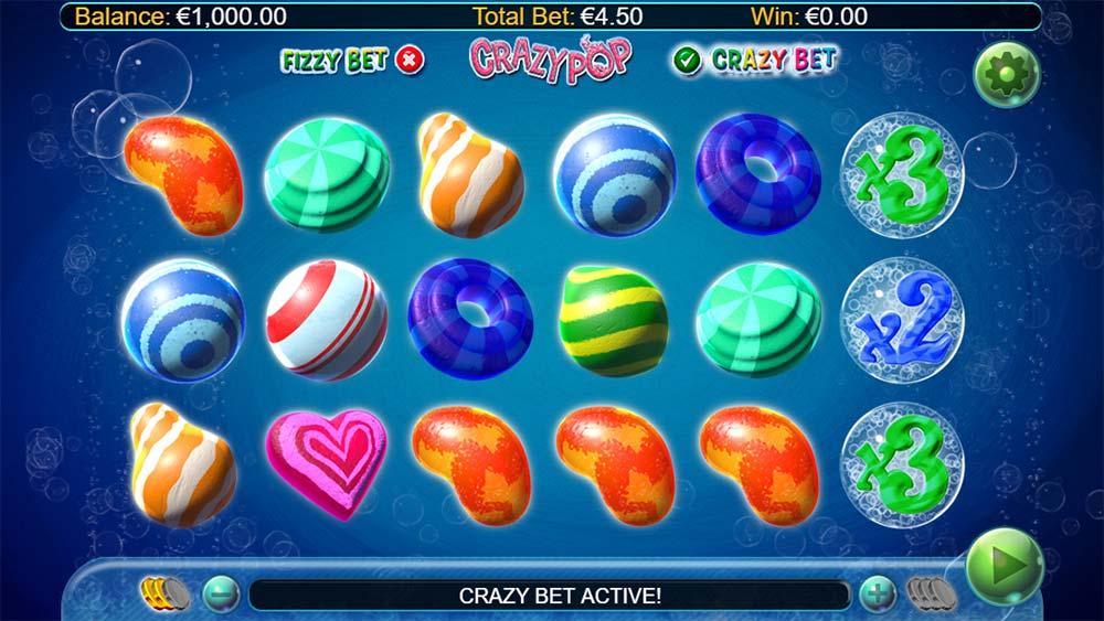 Crazy Pop Slot - Crazy Bet Mode