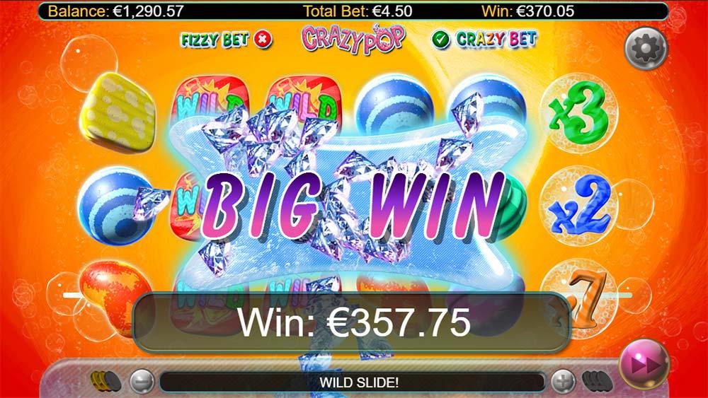 Crazy Pop Slot - Big Win
