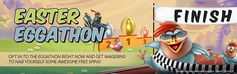 Easter Eggathon Free Spins - BetAt Casino