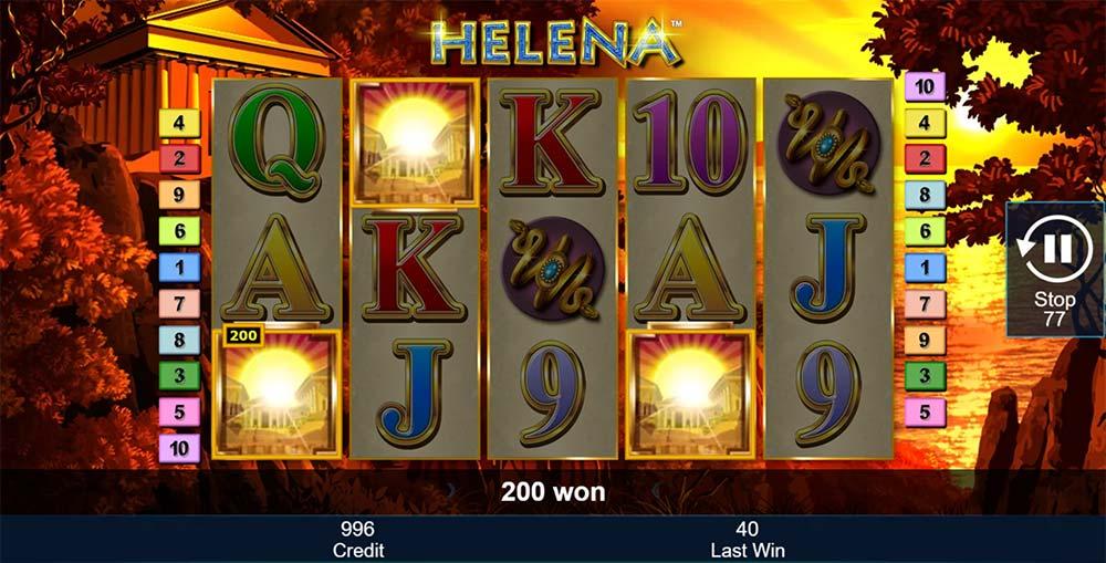 Helena Slot - Free Spins