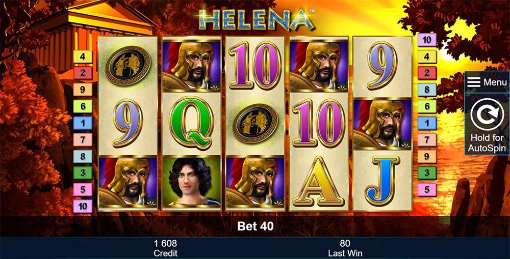 Helena Slot - Base Game
