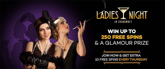 Ladies Night Promotion - Shadow Bet Casino