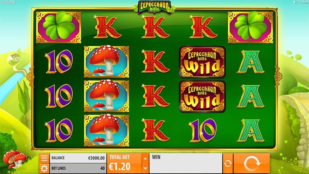 Leprechaun Hills Slot - Base Game