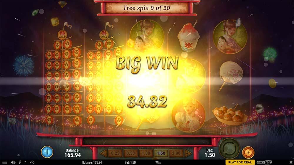 Matsuri Slot - Big Win