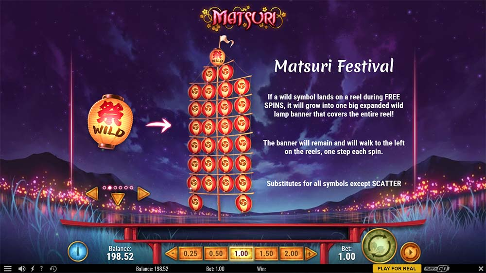 Matsuri Slot - Festival Wilds Mode