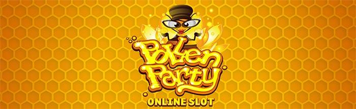 Pollen Party Slot Logo