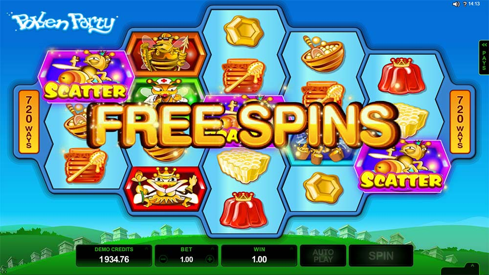 Pollen Party - Free Spins